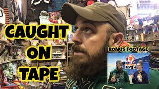 Negotiation Caught On Tape! Abandoned Flea Market Booth! Popeyes Chicken Sandwich Review.