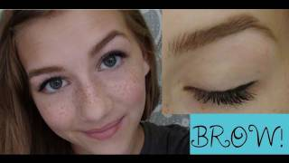 Eyebrow Tutorial ♥ How to Groom and Fill in Thumbnail