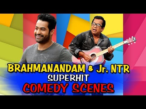 Brahmanandam & Jr NTR Superhit Comedy Scenes | South Hindi Dubbed Best Comedy Scenes