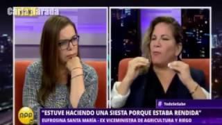 Doña Eufrosina Santa María, una viceministra sinigual