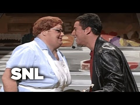 Adam Sandler: Lunch Lady Land – SNL