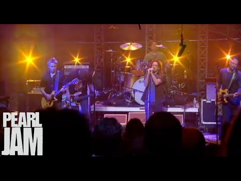 Do The Evolution - Late Show With David Letterman - Pearl Jam