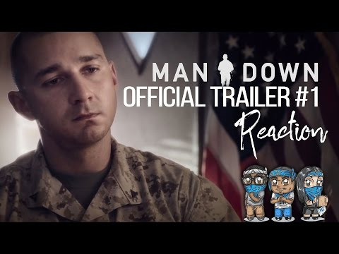MAN DOWN Official Trailer #1 Reaction