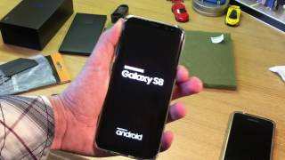 Galaxy S8 Unboxing Midnight Black (Virgin Mobile)