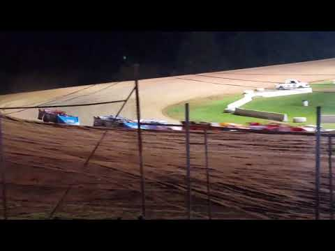 October 13, 2017 Lernerville Speedway RUSH Crate Late Model Heat 3