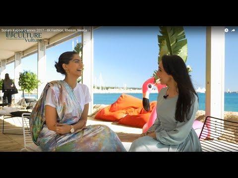 Sonam Kapoor Cannes 2017 - 4K, Fashion, Rheson, Neerja