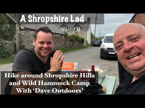 Hike And Wild Camp In The West Shropshire Hills With Dave Outdoors