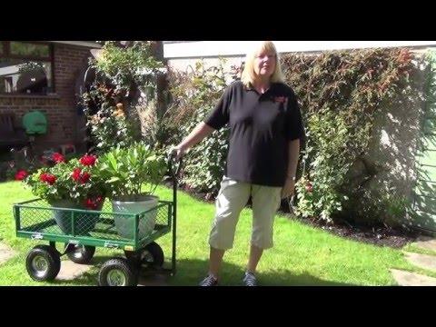 Mesh Garden Cart - 58552