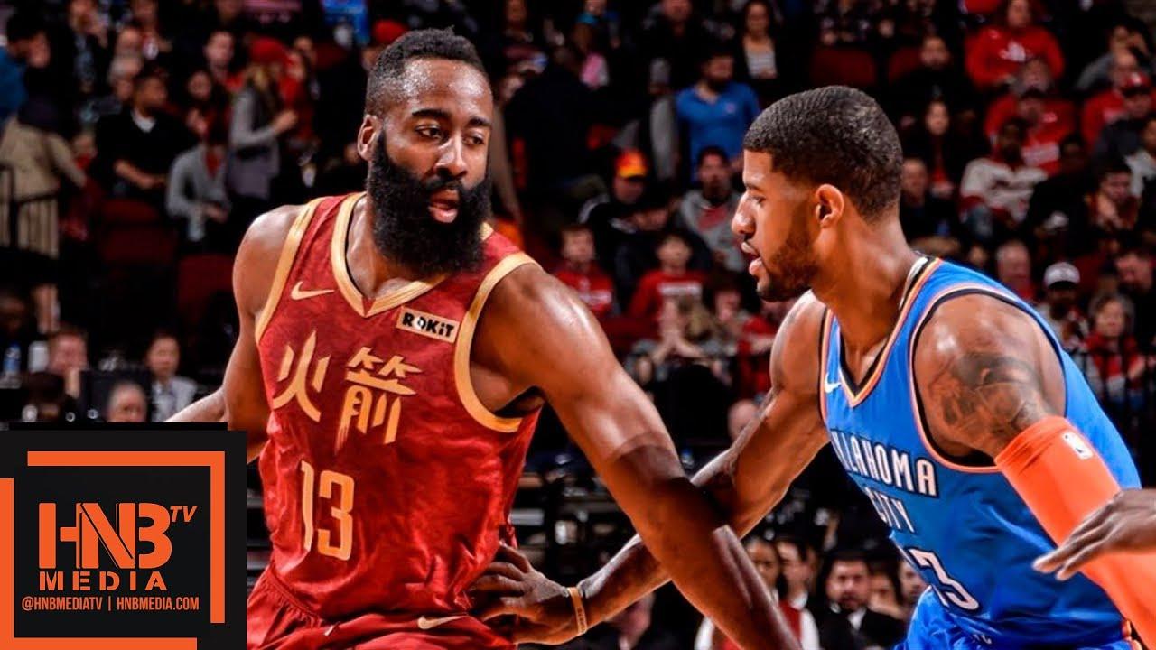 686de6fd8b4 Houston Rockets vs Oklahoma City Thunder Full Game Highlights