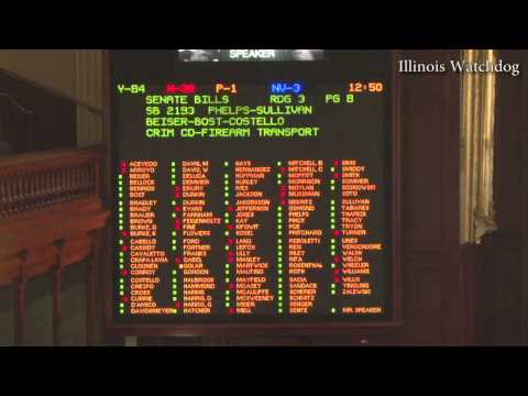 Illinois House approves concealed carry