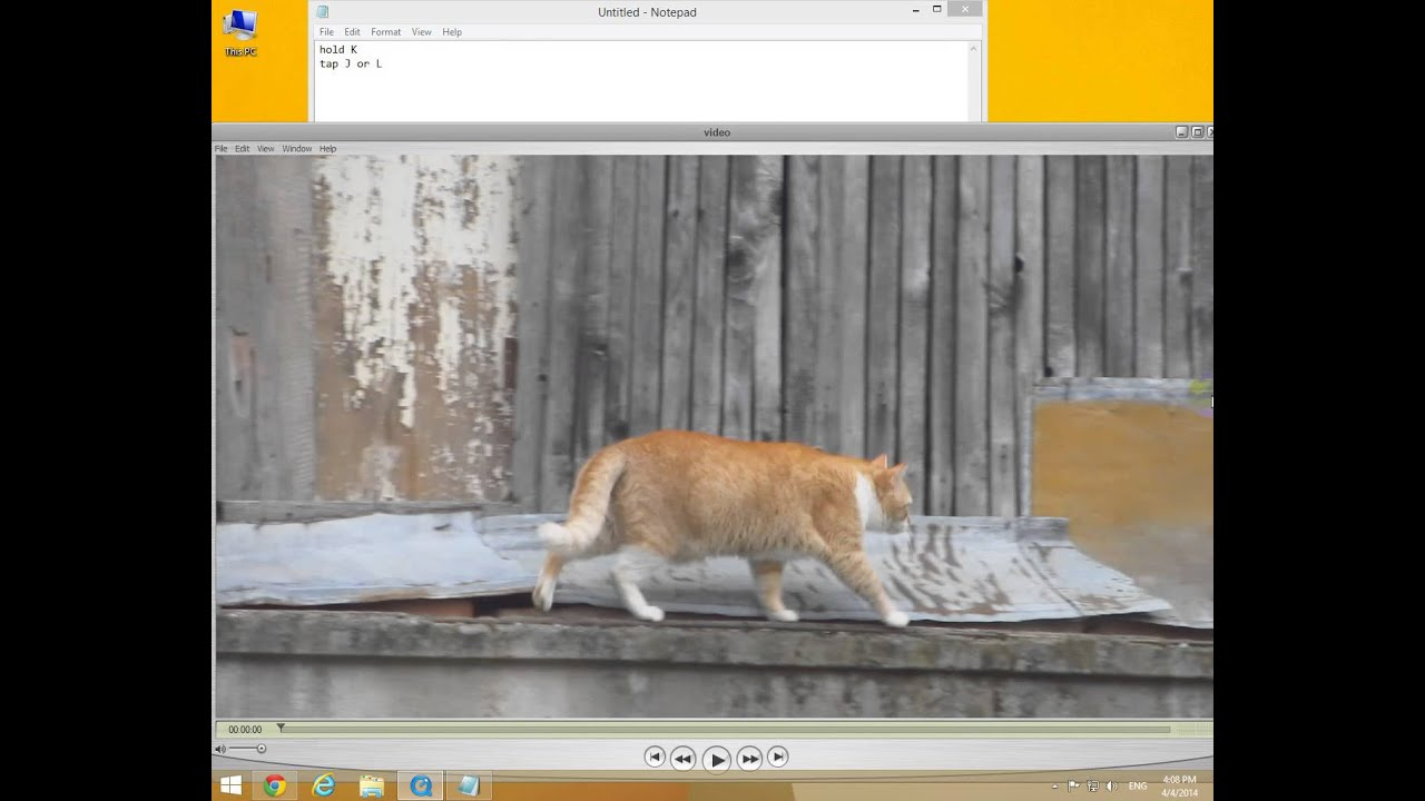 How to view videos Frame by Frame (QuickTime Player) - YouTube