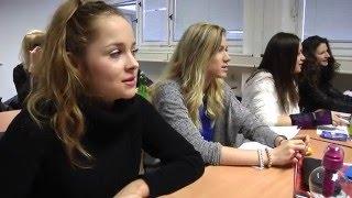 Den ve škole na Mezinárodní konzervatoři Praha