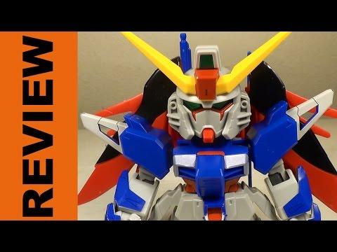 SD EX-Standard Destiny Gundam REVIEW (Gundam SEED Destiny)