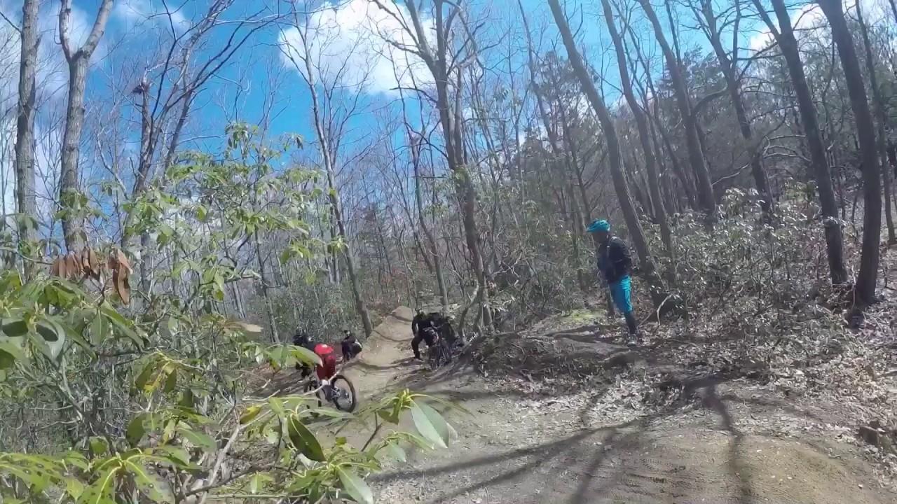 Mountain Biking Fun at Allaire State Park - YouTube