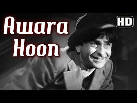 Awara Hoon - Raj Kapoor - Awaara - Mukesh - Shankar Jaikishan - Comedy Week Special {HD}