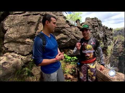 Pela Primeira Vez, Atleta Pratica Rapel Em Uma Das Maiores Bocas De Caverna Do Mundo