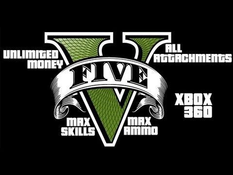 GTA 5 ~Unlimited Money   Max Skills & More!~ Mod Tutorial - (XBOX 360)