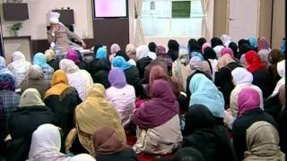 Gulshan-e-Waqfe Nau Nasirat, 30 May 2009, Educational class with Hadhrat Mirza Masroor Ahmad(aba)