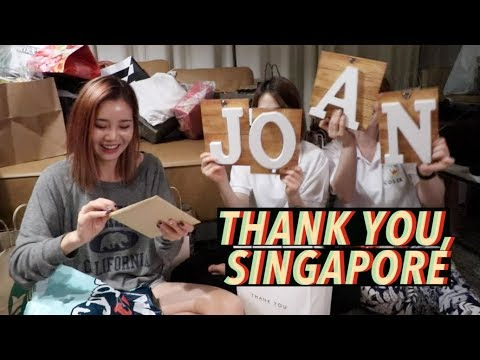 CHRISTMAS CAME EARLY: Gifts From Singapore🎁