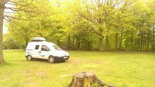 Scudo Camper Camping Trip - Savernake forest - Postern Hill