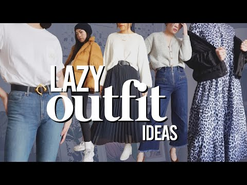 Lazy Winter Outfit Ideas | Styling Tips + Lookbook For Work, School, Etc!