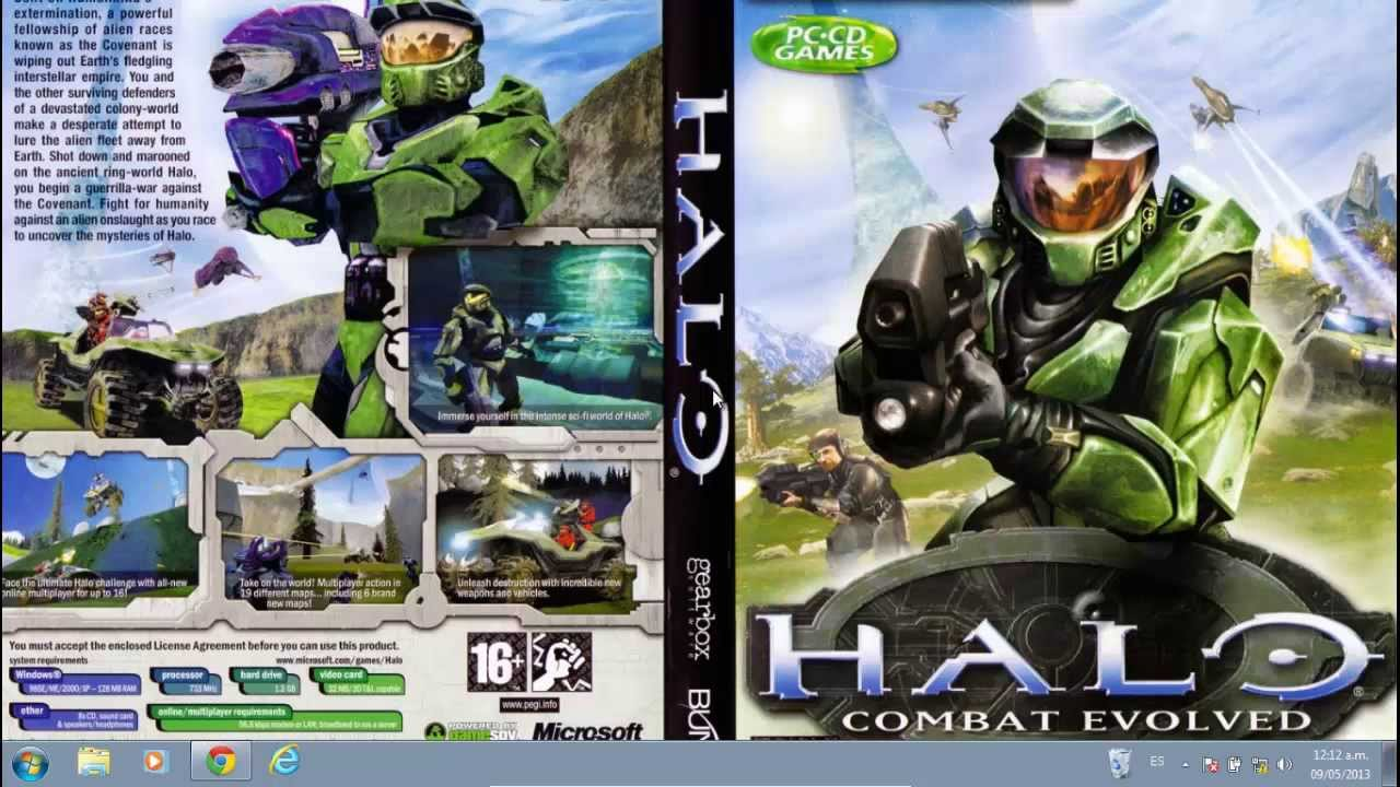 Halo 1 pc