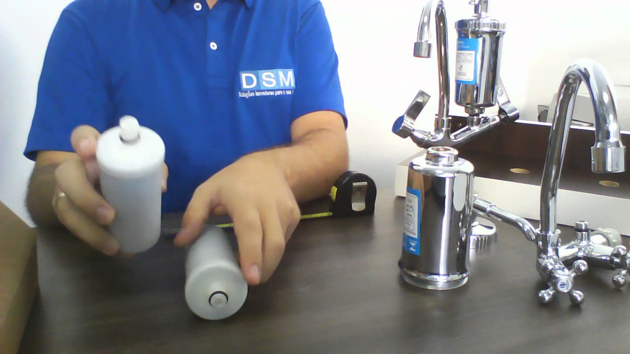 Vela refil para torneira com filtro purificador de gua youtube - Filtros para grifos de agua ...