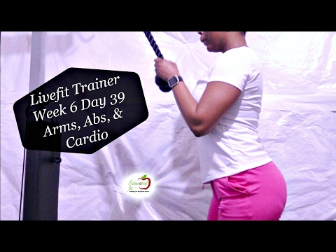 Livefit Trainer Workout | Arms, Abs, & Cardio