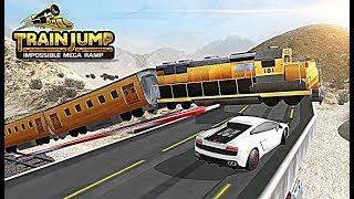 Train Jump Impossible Mega Ramp - Let