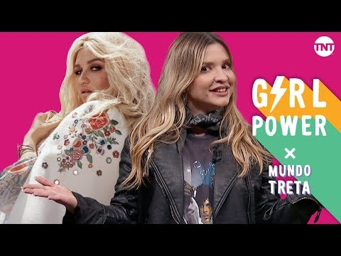 GIRL POWER X MUNDO TRETA: KE$HA