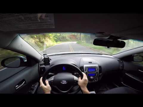 Acelerando na Estrada Monte Alegre Serra Negra, Nurburgring da Mantiqueira com Hyundai i30 2010 POV