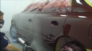 How to Paint a Car - Red Buick Side
