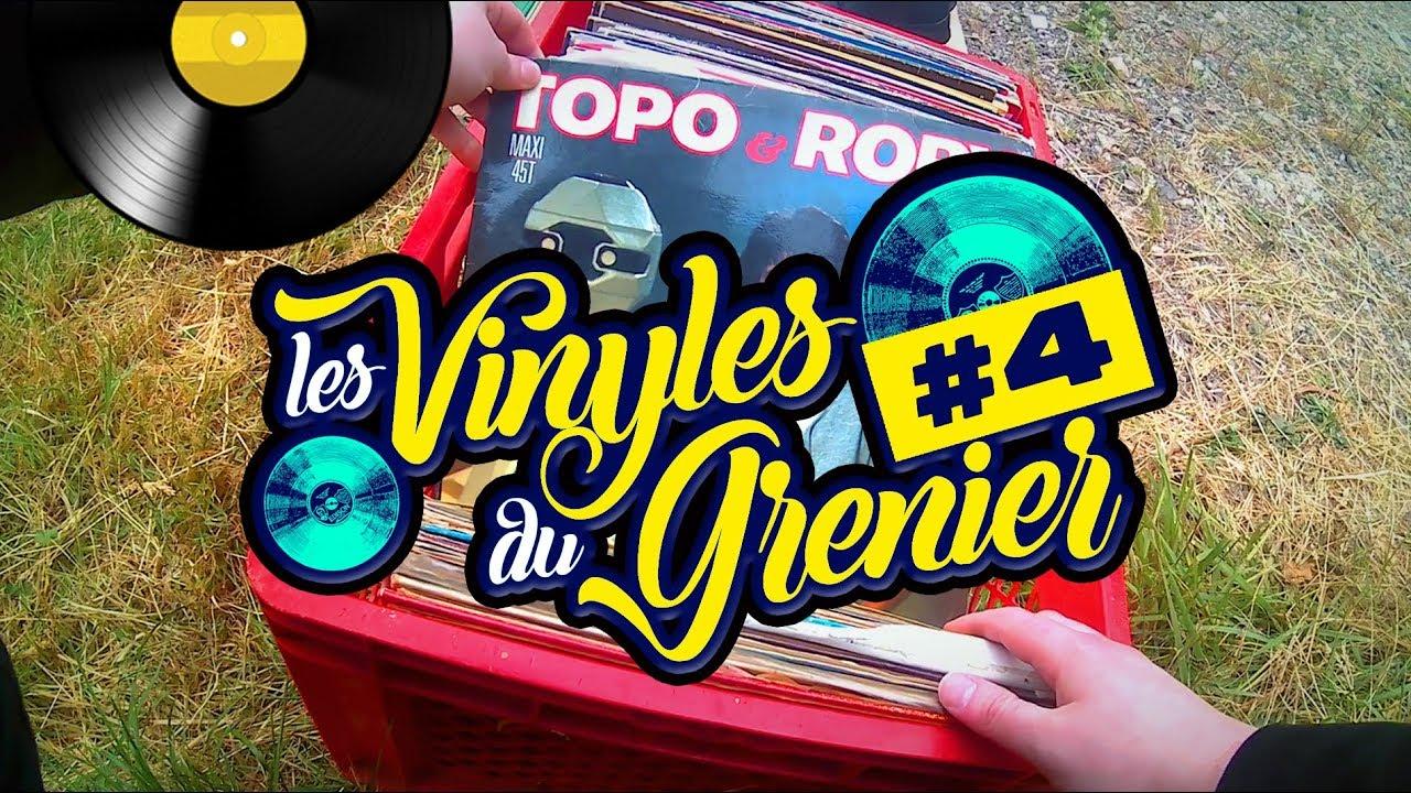 Monsieur Vinyl | LES VINYLES DU GRENIER #04 : des 45 Tours et des Laserdiscs !