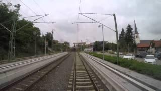 Führerstandsmitfahrt Heilbronn - Heidelberg über Sinsheim
