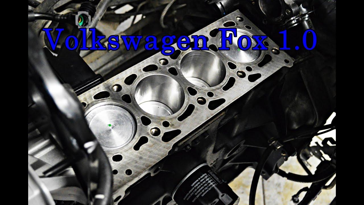 Montagem De Motor Do Volkswagen Fox 1 0 8v 2010 Orlando