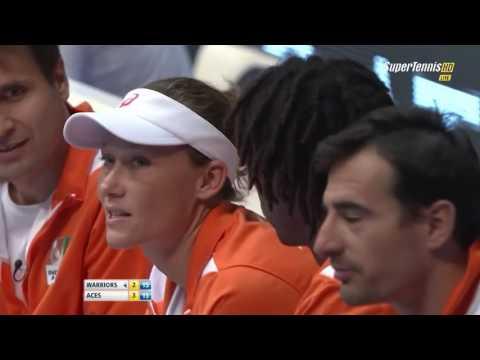 Sharapova / Herbert vs Mirza / Bopanna FULL MATCH HD IPTL KOBE 2015