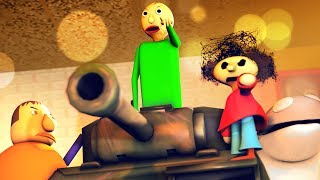 Don't Mess with Baldi's Basics in Education and Learning (SFM BALDI'S BASICS)