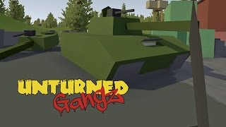 Unturned Russia TURF WARS | GangZ S2 | 16 - ANOTHER DAY, ANOTHER TANK / HORDE BEACON w/FOX!!!