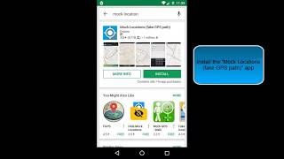Mock Locations (fake GPS path) - How to use it without select mock location app on Android 6, 7
