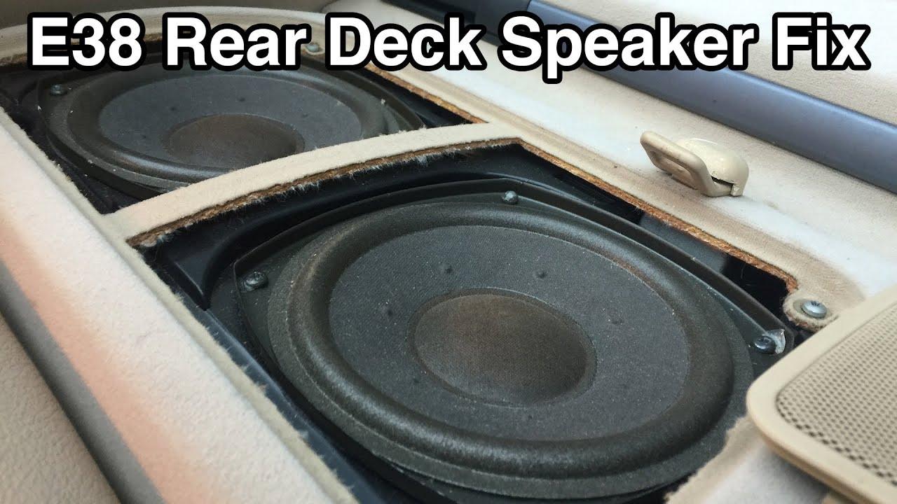 E38 Bmw Dsp Audio Sound Deck - Easy Fix