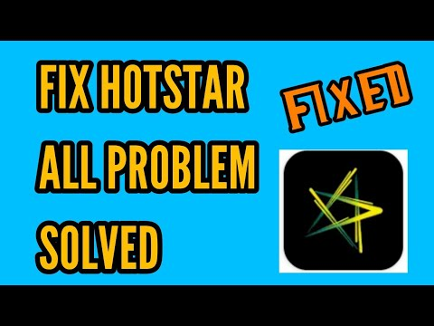 How To Fix Hotstar All Problem Solved