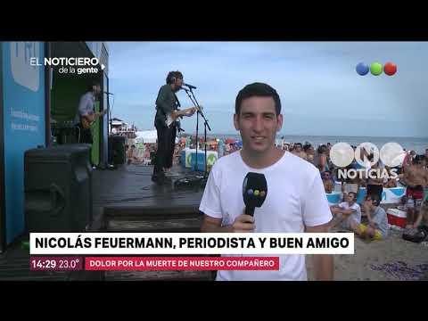 Nicolás Feuermann, periodista y buen amigo - El noticiero de la gente