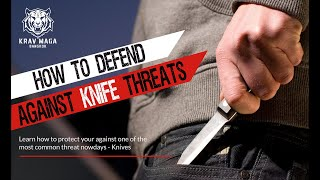 How to Defend Against Knife Threats - Krav Maga Bangkok Seminar