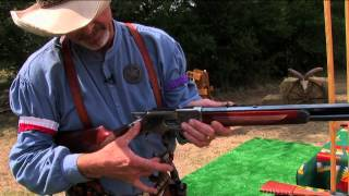 Mounting and Levering Your Rifle - Cowboy Action Shooting