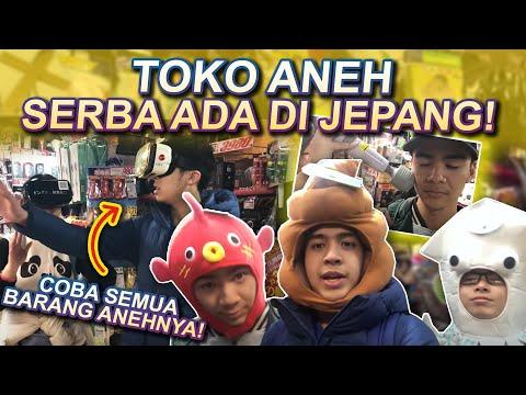 WOW! TOKO ANEH SERBA ADA DI JEPANG! (ft. Karboen)
