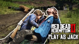Playing as Jack Marston in Red Dead Redemption 2 | RDR2 PC Mod