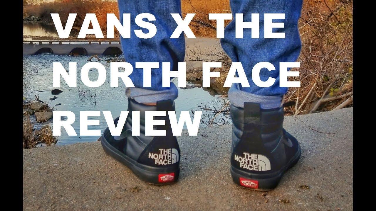 vans north face sk8 hi review
