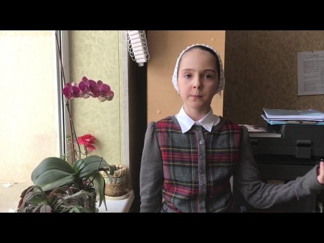 Изображение предпросмотра прочтения – ДалиАйдаева читает отрывок изпроизведения «Стихи о советском паспорте» В.В.Маяковского
