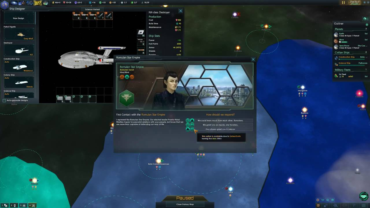 Star Trek New Horizons Federation