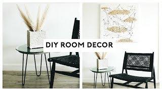 DIY ROOM DECOR IDEAS 2019! MINIMAL + AESTHETIC | Nastazsa